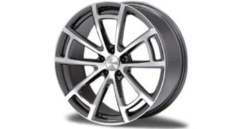 Легкосплавный колесный диск CS.5 R21 Diamond Silver Mansory для Porsche Panamera Sport Turismo
