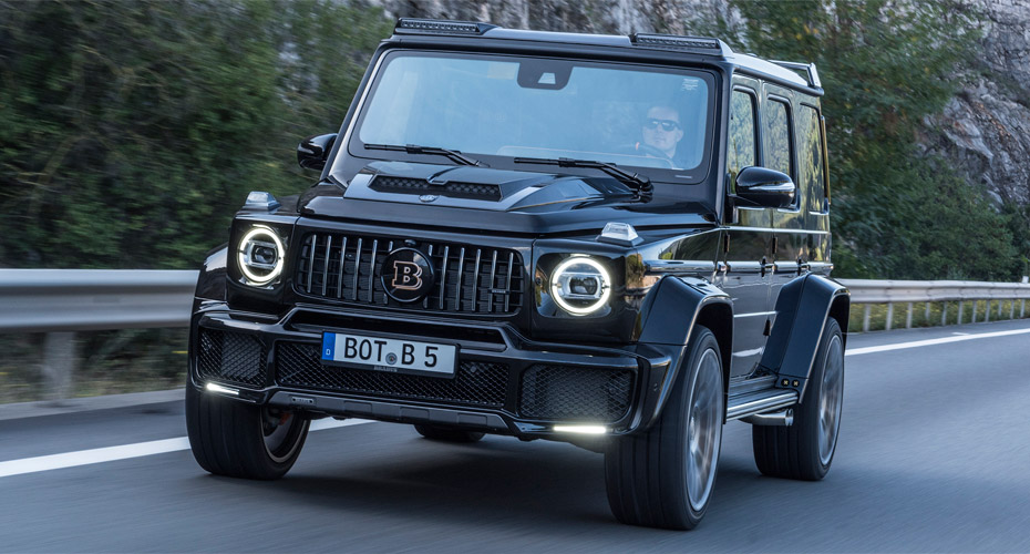 Обвес Brabus для Mercedes G-class W464 (W463 A)