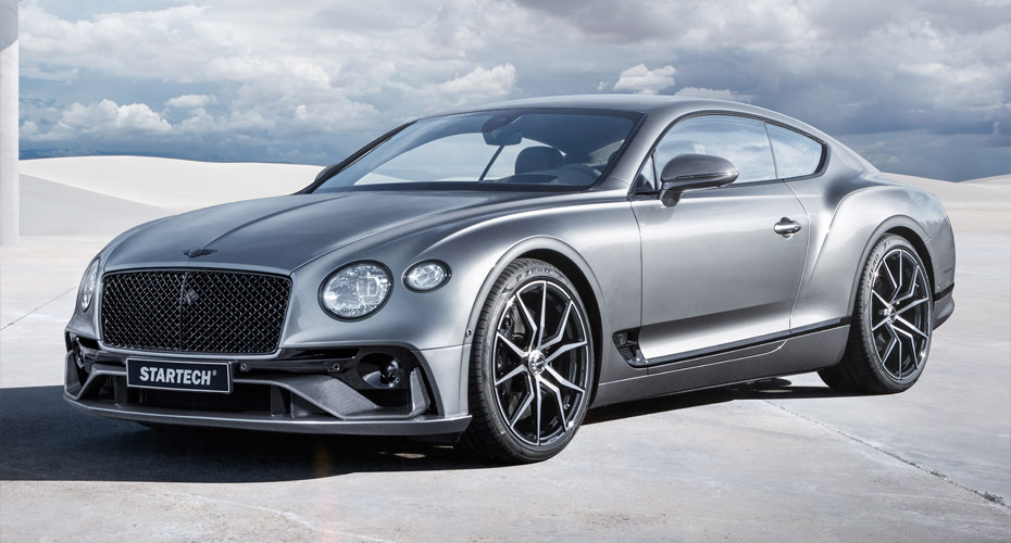 Тюнинг Startech для Bentley Continental GT III