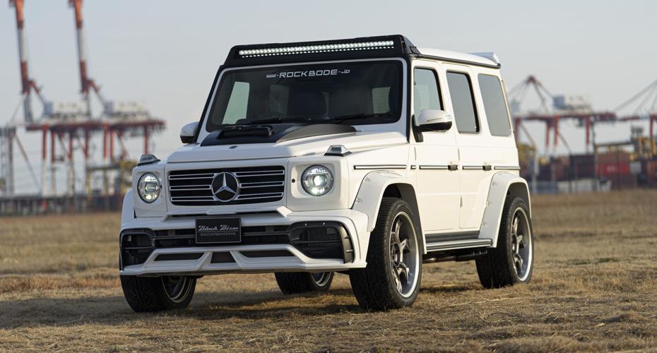 Обвес Wald для Mercedes G W464