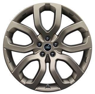Колесный диск R20 Satin Grey Gold для Range Rover Evoque