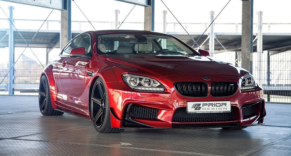 Обвес Prior Design PD6XX для BMW M6 F12/F13