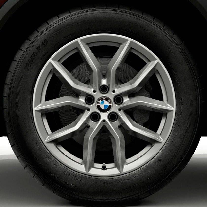 Легкосплавное дисковое колесо (V-образные спицы) 734 для BMW X5 G05
