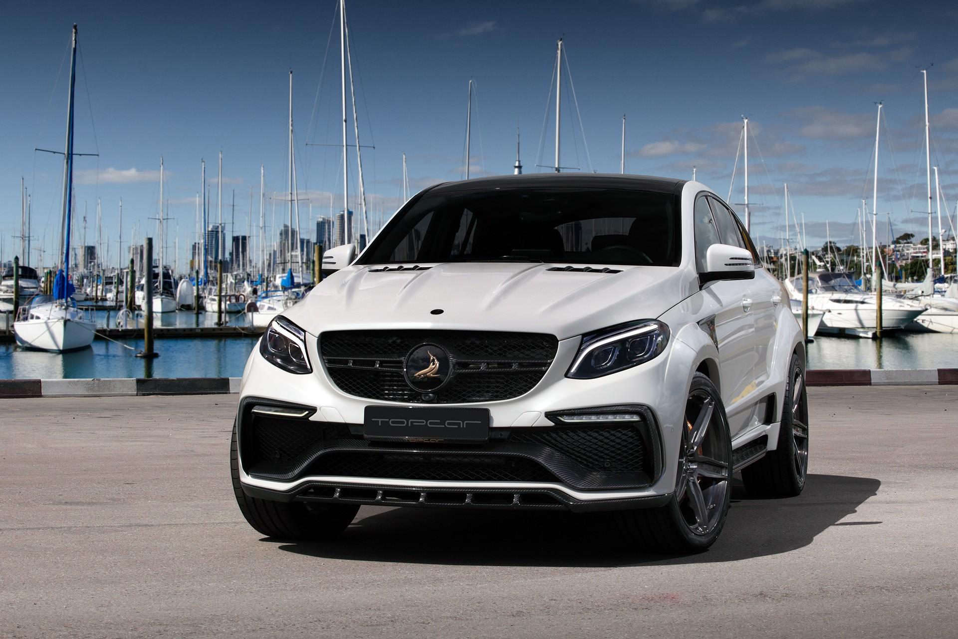 Аэродинамический обвес TopCar Inferno для Mercedes GLE-class Coupe