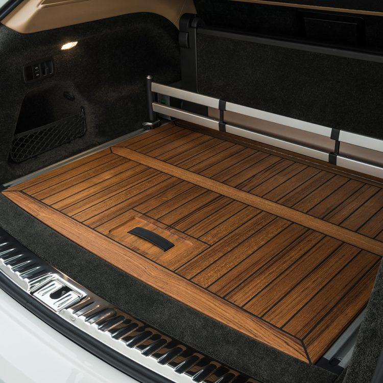 Деревянное покрытие для багажного отделения Startech для Bentley Bentayga 2016-