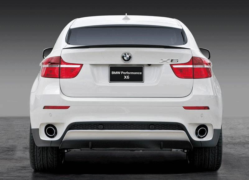 Новые детали задней части Performance Aero для BMW X6 E71