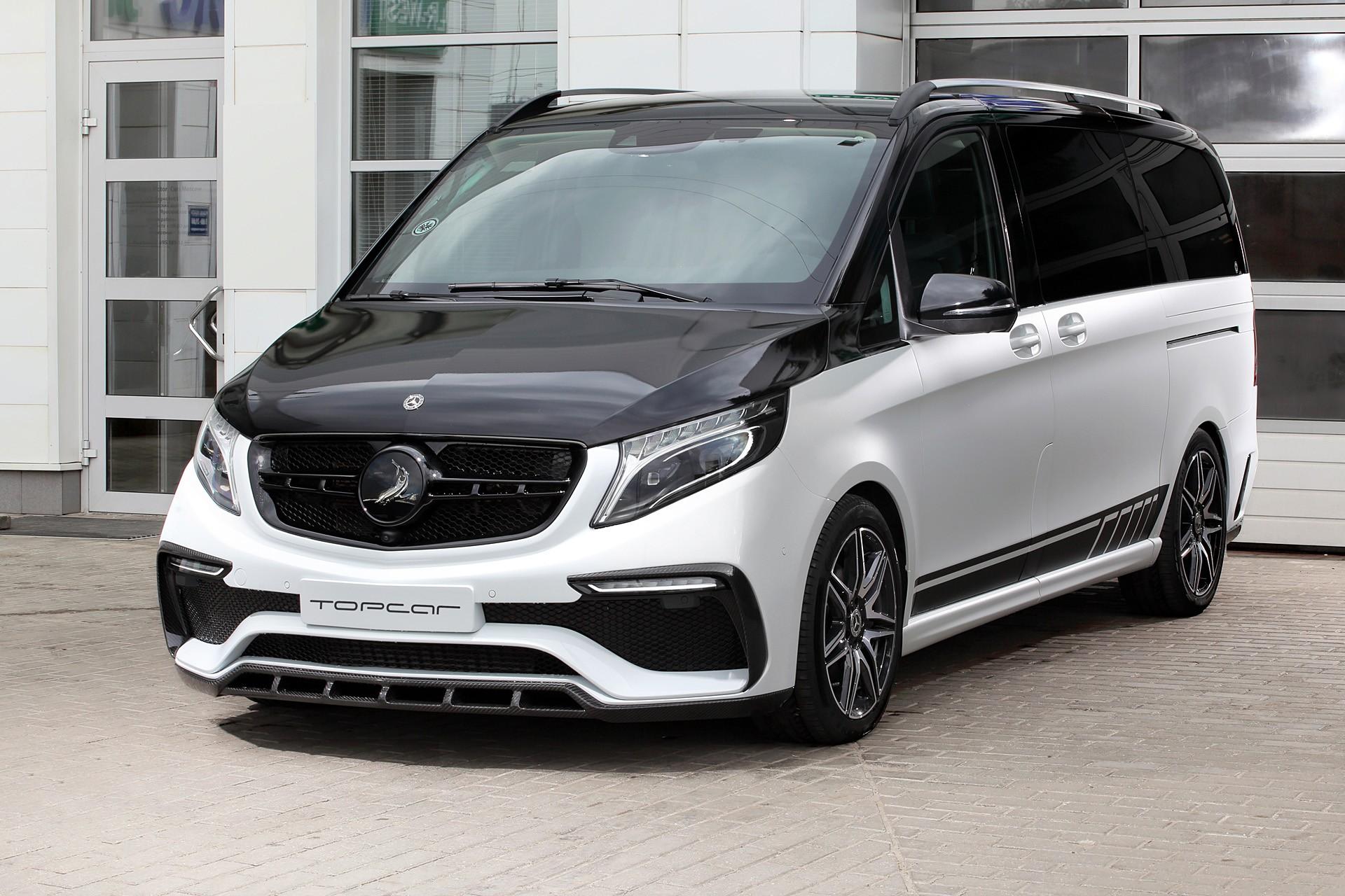 Тюнинг TopCar Inferno для Mercedes V-class
