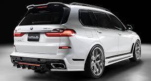 Накладка на задний бампер (со стоп-сигналом) WALD для BMW X7 G07
