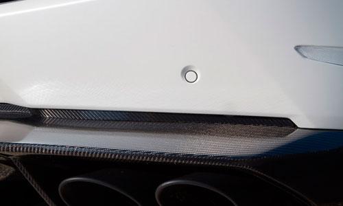 Вставки в задний бампер (карбон) Novitec для Lamborghini Huracan LP 570