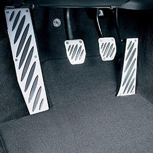 Накладки на педали (алюминий) M Performance для BMW 1 Series E81/E87
