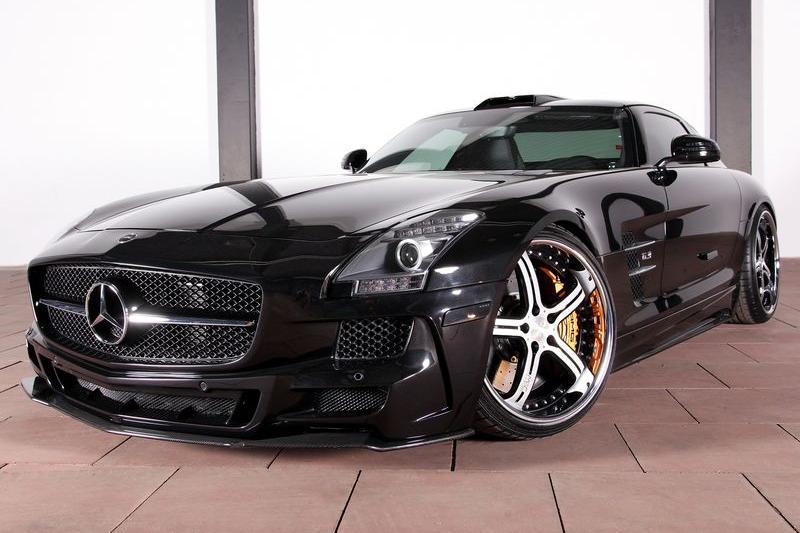 Аэродинамический обвес MEC Design для Mercedes SLS