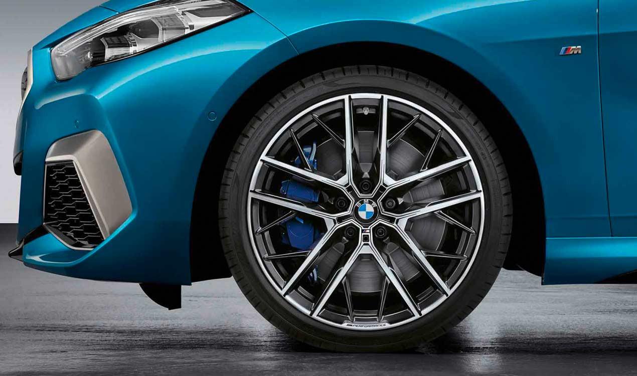 Легкосплавный колесный диск (сдвоенные спицы) 555M для BMW 1 Series F40