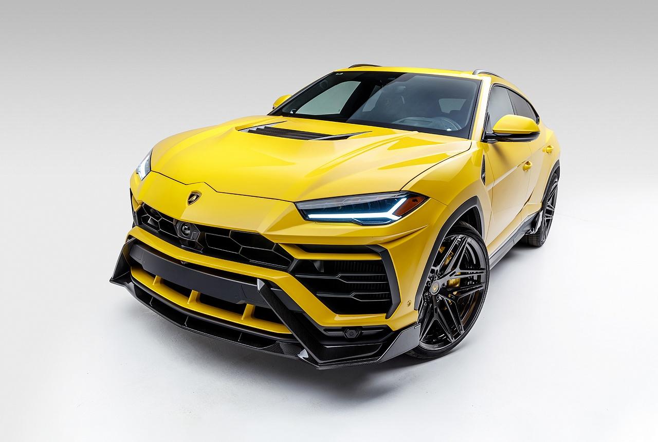 Спойлер переднего бампера (карбон) Vorsteiner для Lamborghini Urus