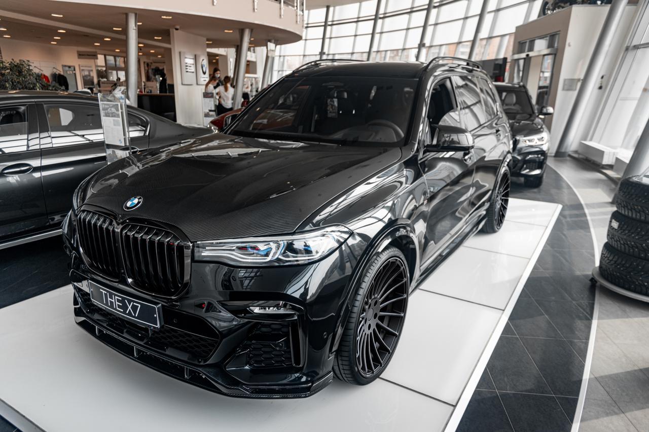 Тюнинг (карбон) Renegade для BMW X7 G07