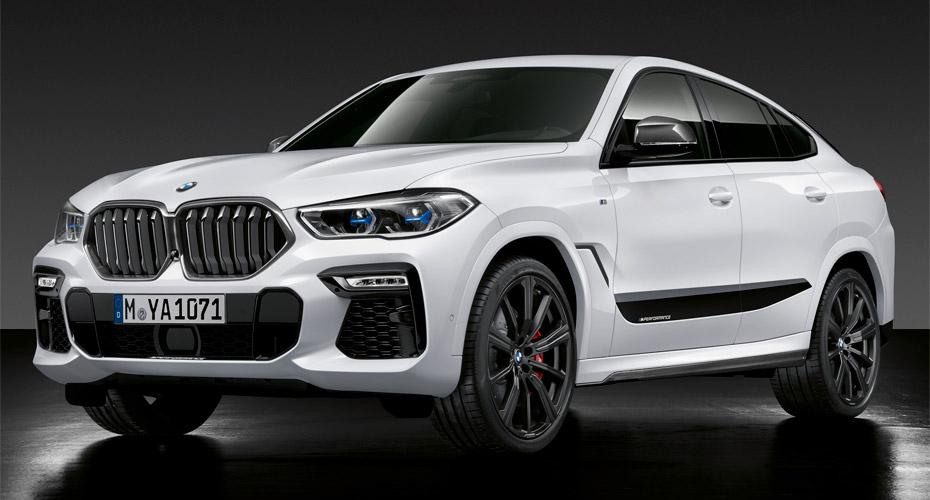 Тюнинг M Performance для BMW X6 G06