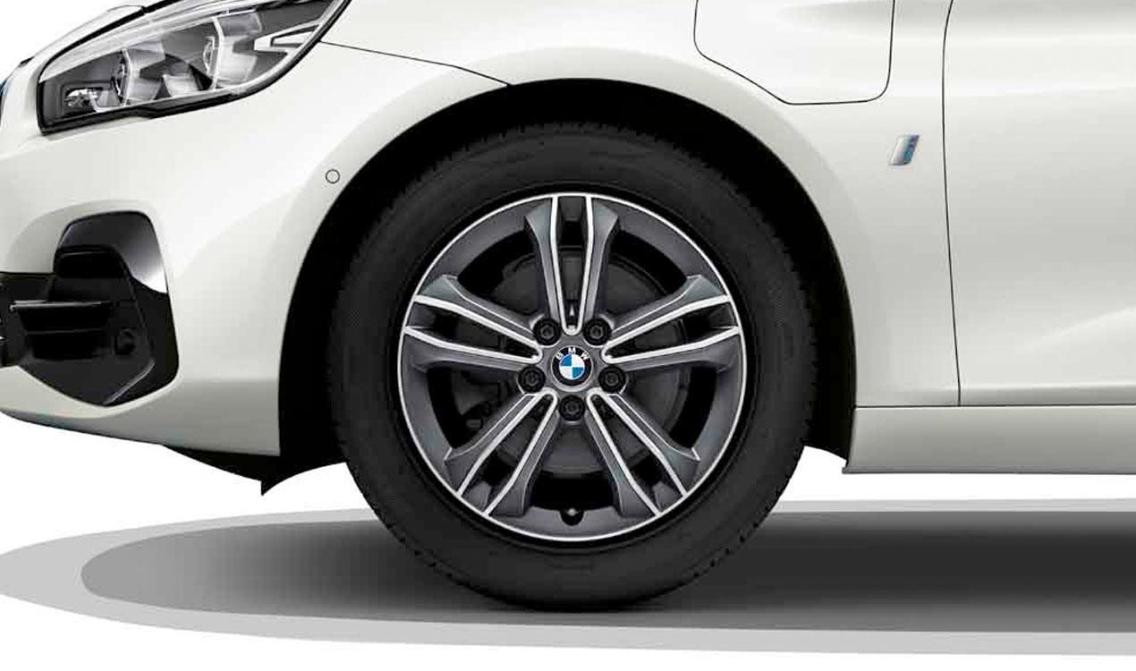 Легкосплавный колесный диск (сдвоенные спицы) 549 для BMW 1 Series F40