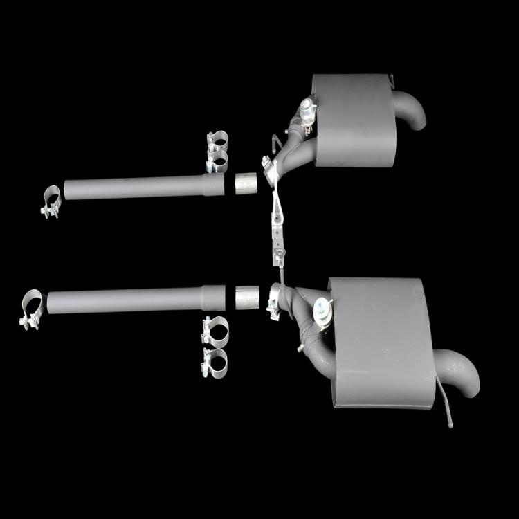 Спортивная выхлопная система V8 Startech для Range Rover Sport 2014-2017