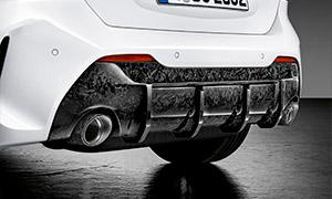 Диффузор заднего бампера (карбон)  M Performance для BMW 1 Series F40