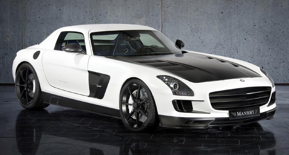Обвес Mansory для Mercedes SLS