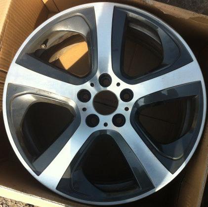 Легкосплавный колесный диск (звездообразные спицы) 490 для BMW X6 F16