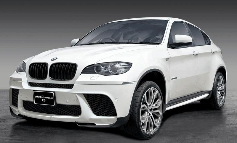 Новые детали передней части Performance Aero для BMW X6 E71
