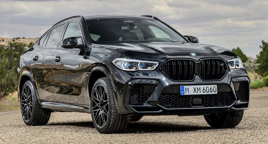 Рестайлинг для BMW X6 G06 в X6M