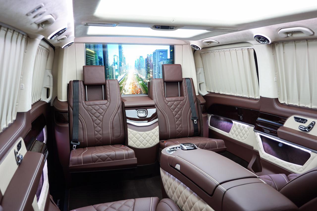 Тюнинг салона Mercedes V-class W447