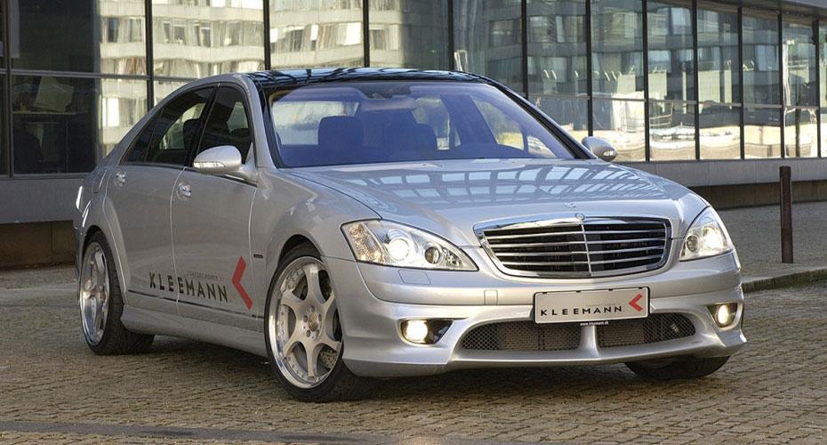 Аэродинамический обвес Kleemann для Mercedes S-class W221