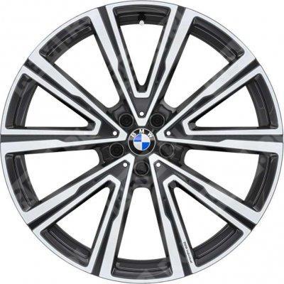 Легкосплавный колесный диск (V-образные спицы) 746I для BMW X6 G06