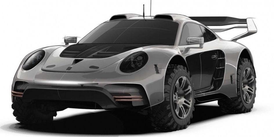 Тюнинг-ателье Gemballa удивило автолюбителей новой внедорожной версией легендарной машины Porsche 911