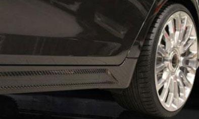 Пороги (с карбоновыми элементами) Mansory для BMW 7-Series F01/F02