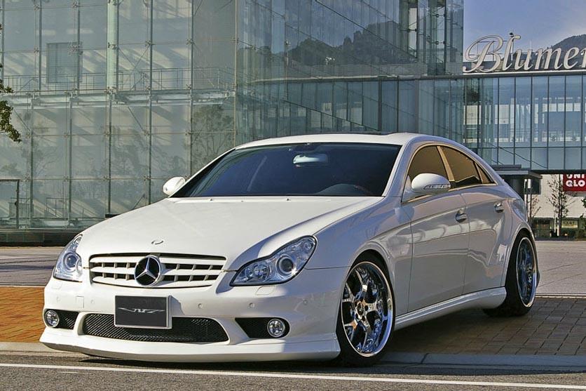 Аэродинамический обвес VITT Wide Version для Mercedes CLS-class C219
