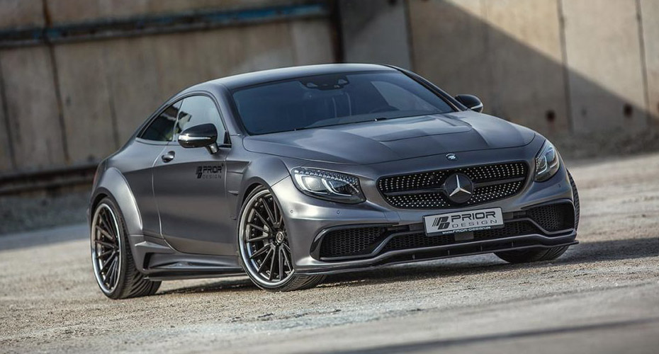 Тюнинг Prior Design для Mercedes S-class Coupe C217