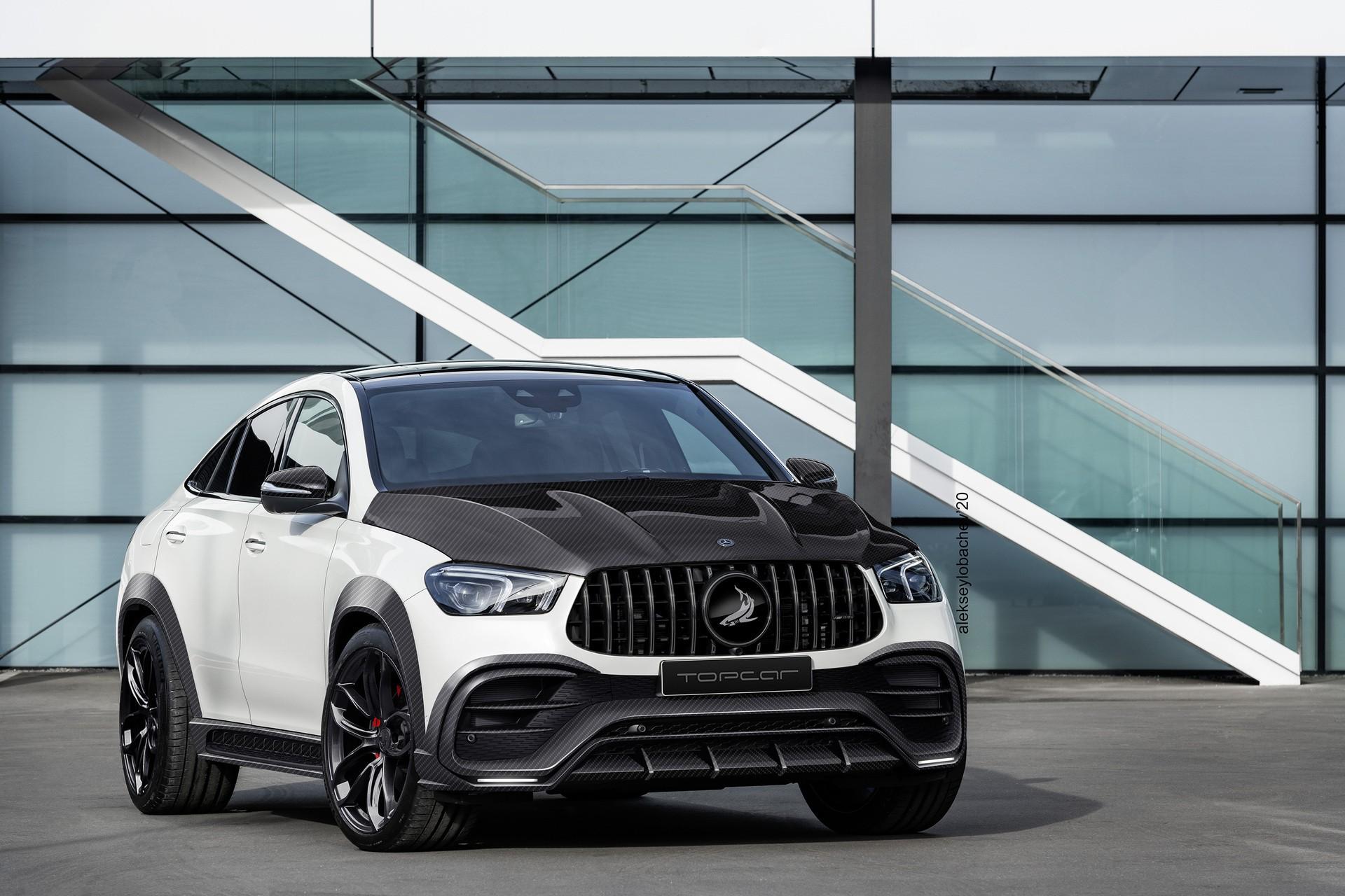 Тюнинг TopCar Inferno для Mercedes GLE-class Coupe