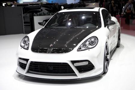 Обвес Mansory (невидимый карбон) для Porsche Panamera 970