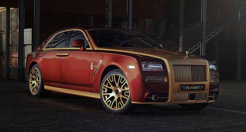 Обвес Mansory (рестайлинг) для Rolls-Royce Ghost