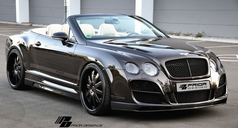 Тюнинг Prior Design для Bentley Continental GT