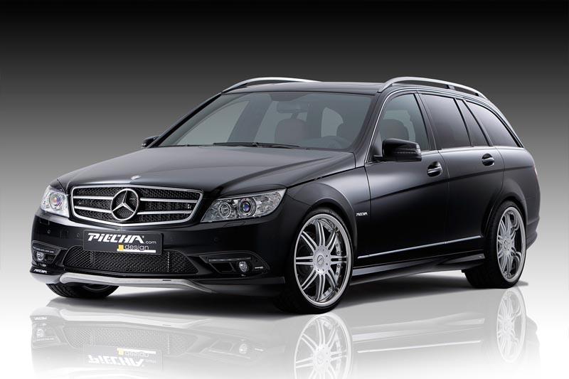 Аэродинамический обвес Piecha Design для Mercedes C-class W204