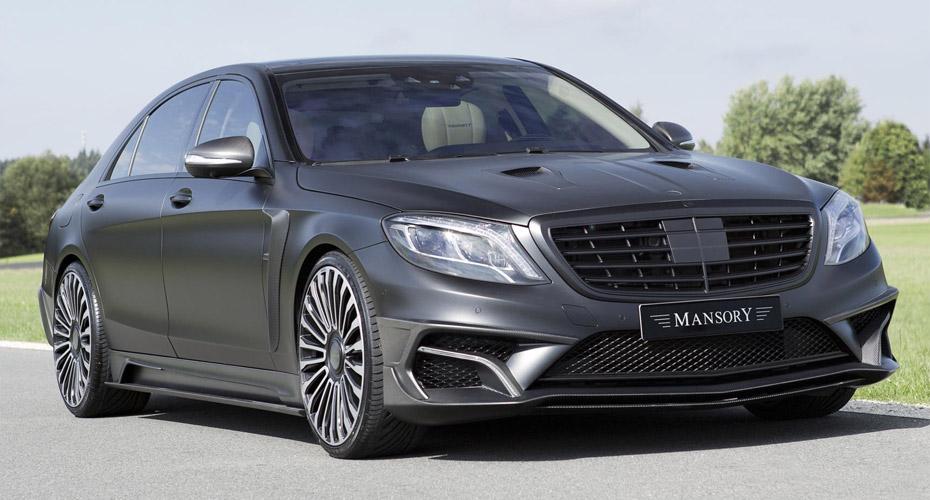 Обвес Mansory для Mercedes S-class W222