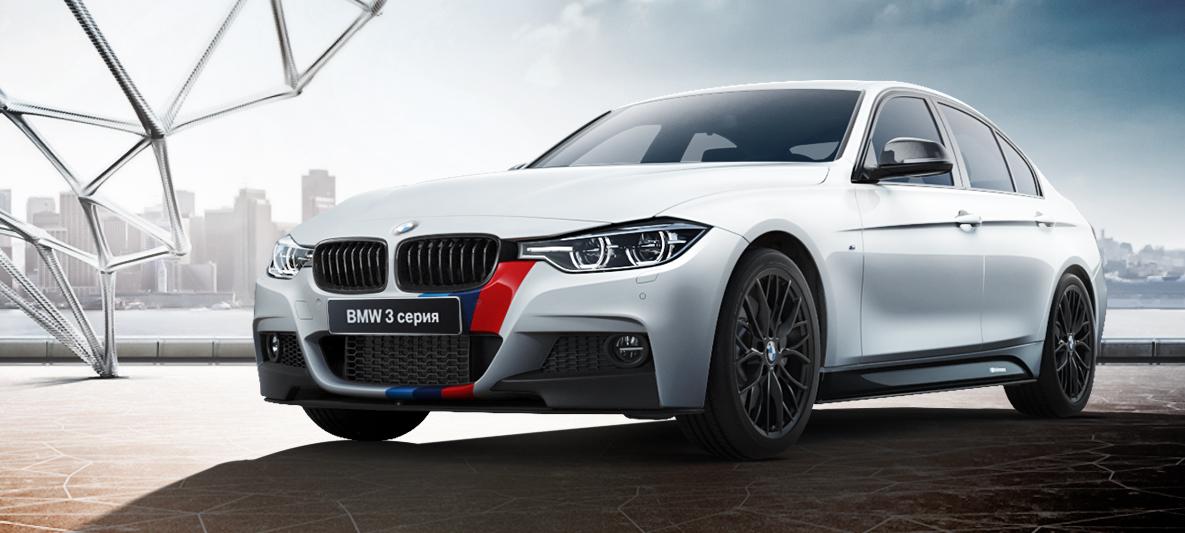 Аэродинамические принадлежности M Performance для BMW 3 Series F30/31