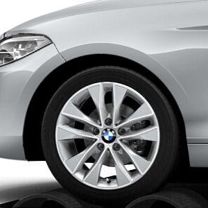 Легкосплавное дисковое колесо (V-образные спицы) 412 для BMW 2 Series F22