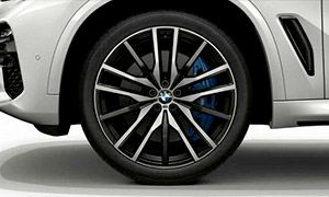 Колесный диск 742M (Y-образные спицы) R22 M Performance для BMW X6 G06