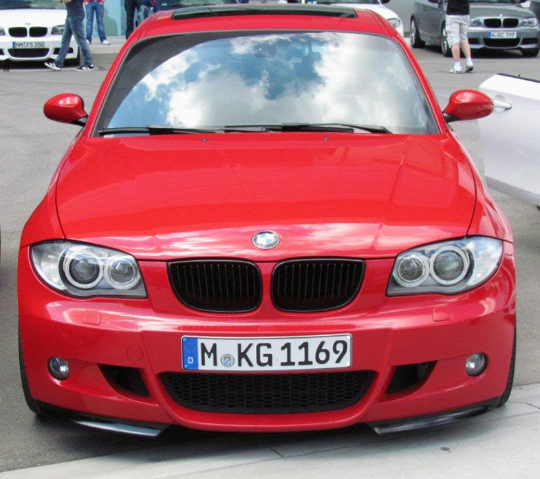 Аэродинамические принадлежности M Performance для BMW 1 Series E81/E87