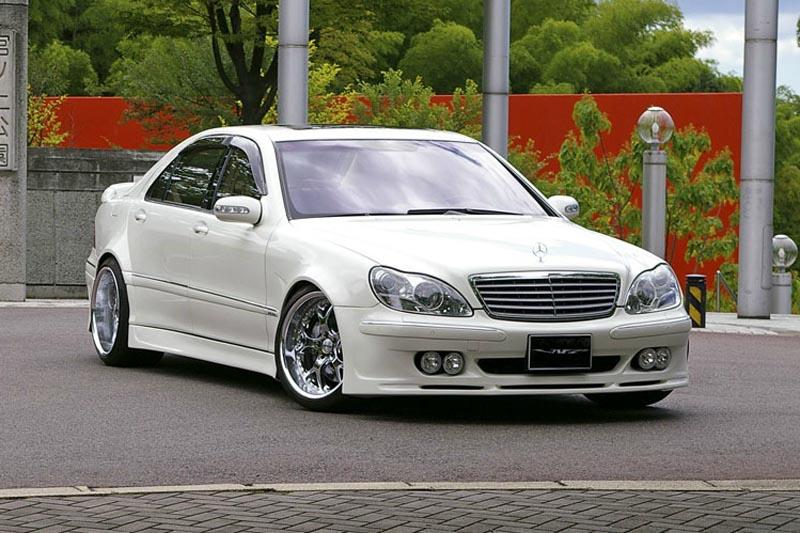 Аэродинамический обвес VITT Super Wide Version для Mercedes S-class W220