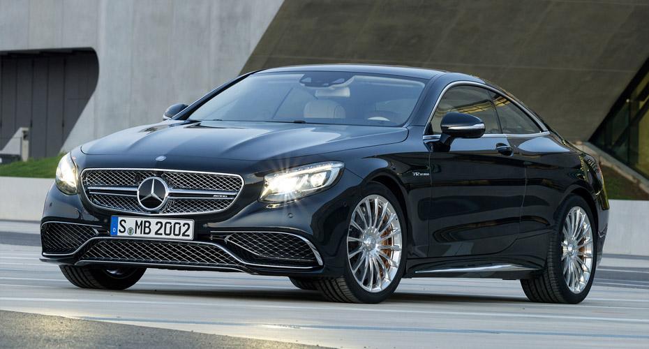 Обвес S65 AMG для Mercedes S-class Coupe C217