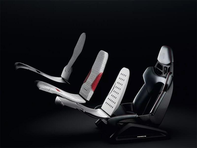 Бренд Porsche планирует запустить печатать автомобильных кресел на 3D-принтере