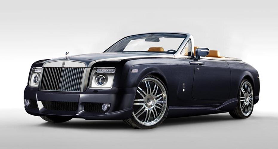 Обвес Mansory для Rolls-Royce Phantom Drophead Coupe