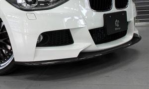 Спойлер переднего бампера (карбон) 3D Design M Sport для BMW 1 Series F20