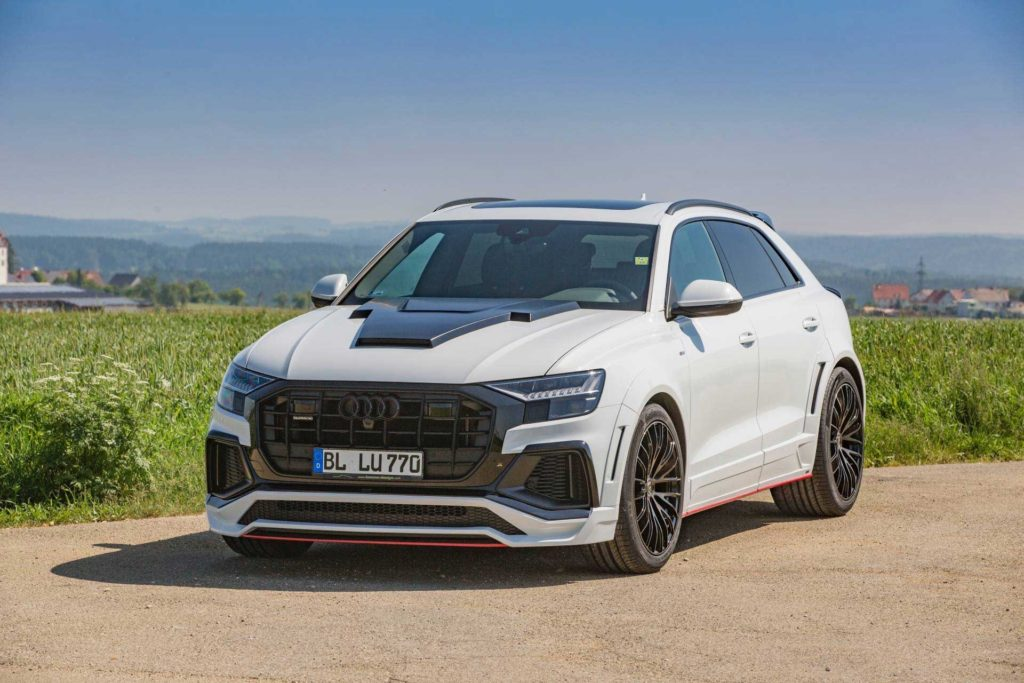 Обвес LUMMA для Audi Q8 S