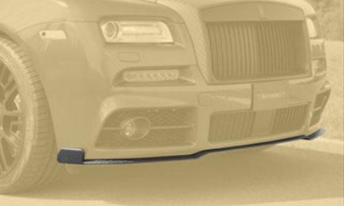 Спойлер переднего бампера (карбон) Mansory для Rolls-Royce Wraith